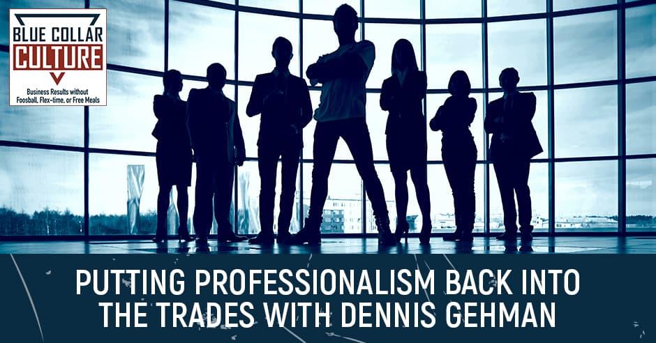 BCC 1   Increasing Professionalism